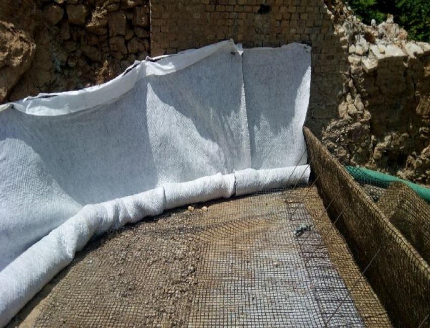 drenaggio terra rinforzata