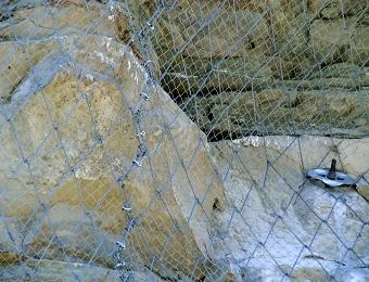 consolidamento pareti in roccia