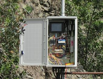 monitoraggio frane e pareti rocciose