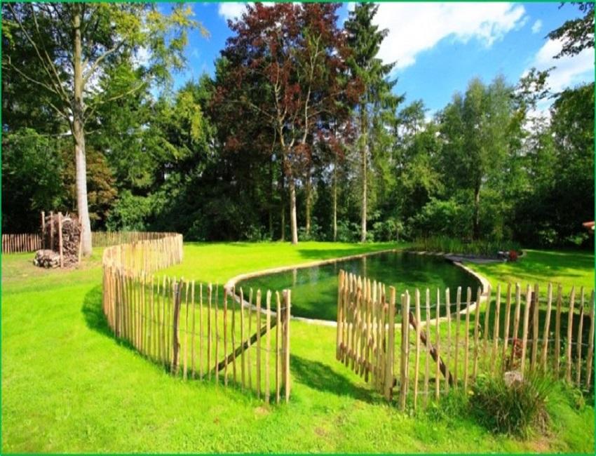 recinzione in legno umoracqueo